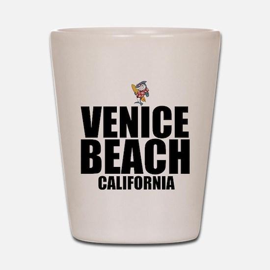 Venice Beach, California Shot Glass