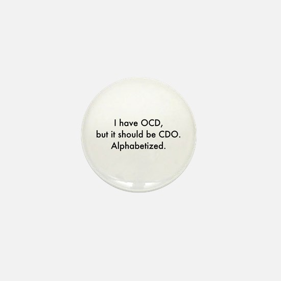OCD Mini Button