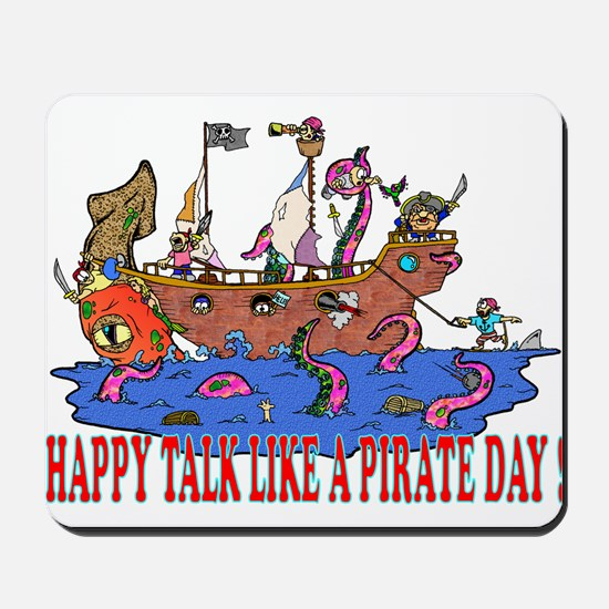 Happy Talk like A Pirate Day Mousepad