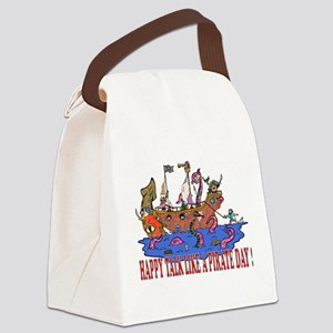 Happy Talk like A Pirate Day Canvas Lunch Bag