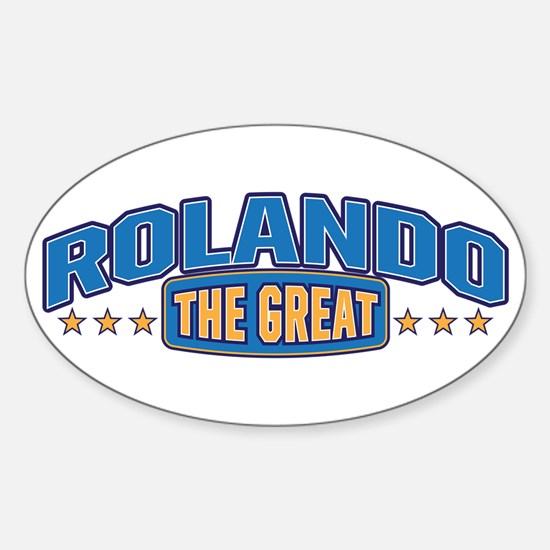 The Great Rolando Decal
