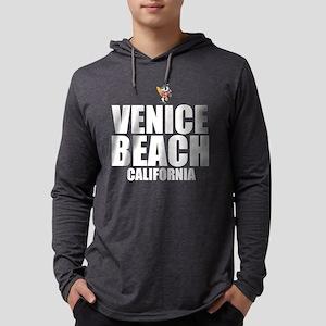 Venice Beach, California Mens Hooded Shirt