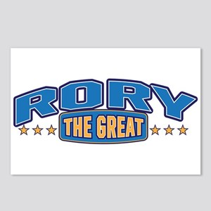 The Great Rory Postcards (Package of 8)