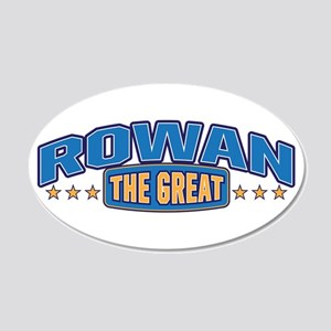 The Great Rowan Wall Decal
