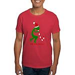 Christmas' Kokopelli is Ho-Ho-Pelli, Dark T-Shirt