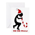 Ho-Ho-Pelli Greeting Cards (Pk of 10, blank)