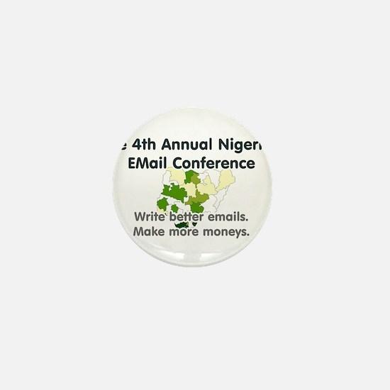 4th Annual Nigerian Email Con Mini Button