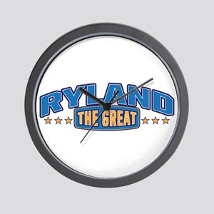 The Great Ryland Wall Clock