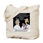 Time Cartoon 8392 Tote Bag