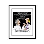 Time Cartoon 8392 Framed Panel Print