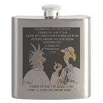 Time Cartoon 8392 Flask