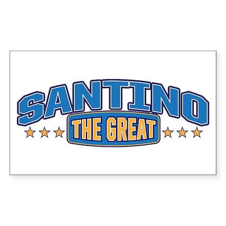 The Great Santino Sticker