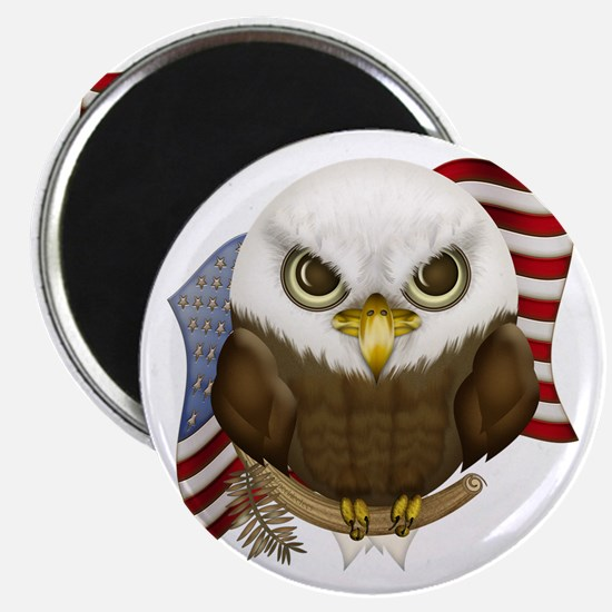 Cute Bald Eagle Magnet