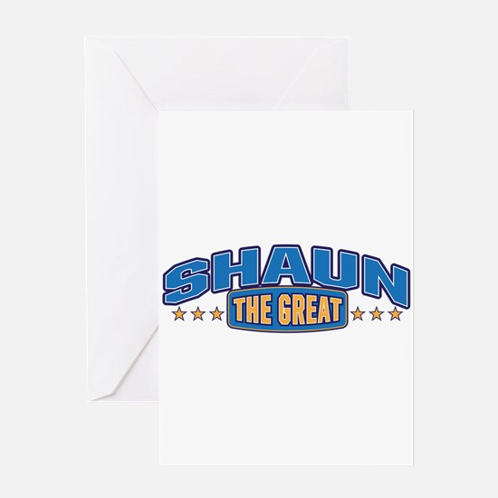 The Great Shaun Greeting Card