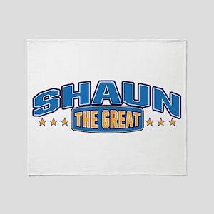 The Great Shaun Throw Blanket