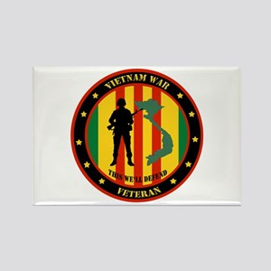 Vietnam War Veteran - This Well Defend Patch Recta