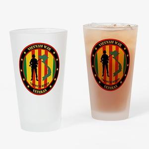 Vietnam War Veteran - This Well Defend Patch Drink