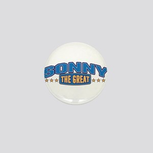 The Great Sonny Mini Button