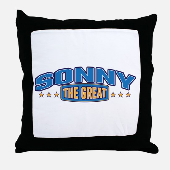 The Great Sonny Throw Pillow
