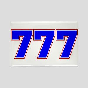 777 GOD Rectangle Magnet