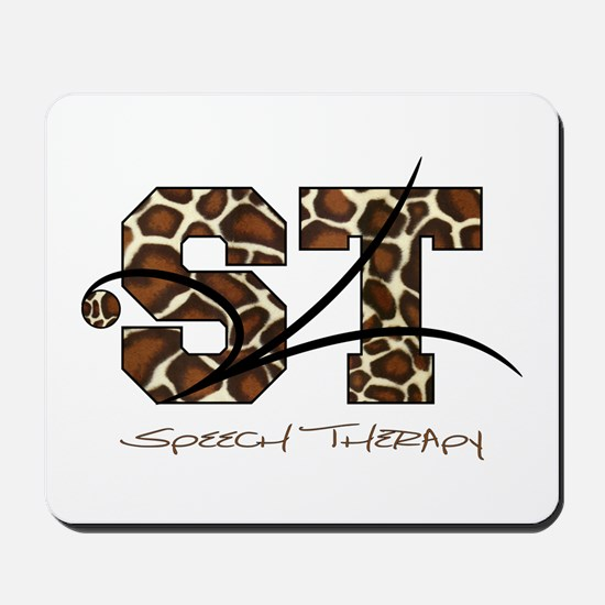 ST Camo Giraffe Mousepad