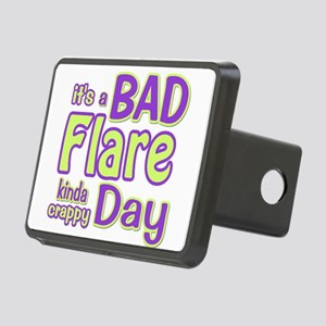 its a Bad Flare kinda crappy day Hitch Cover