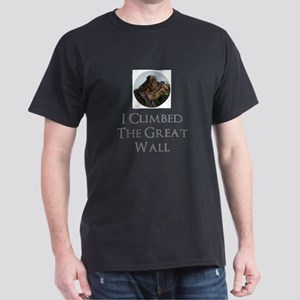 I Climbed The Great Wall T-Shirt