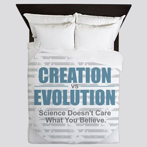 Science Doesn't Care Queen Duvet