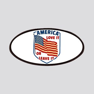 America Love it Patches
