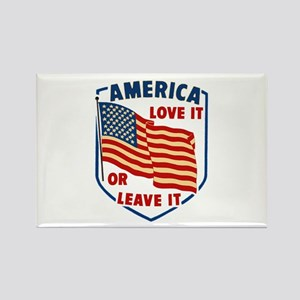 America Love it Rectangle Magnet