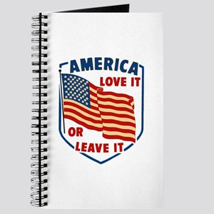 America Love it Journal