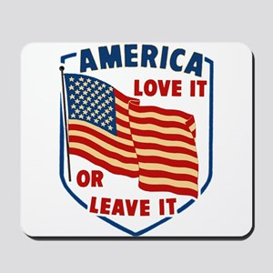 America Love it Mousepad