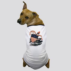 Vintage American Shield Dog T-Shirt