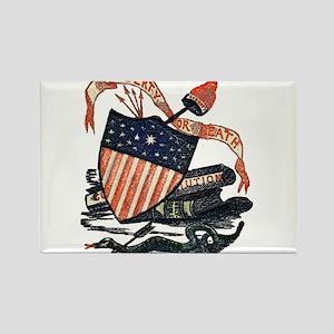 Vintage American Shield Rectangle Magnet