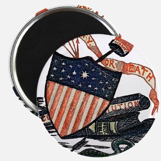 Vintage American Shield Magnet