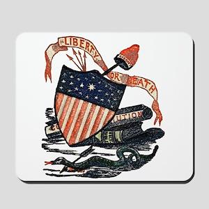Vintage American Shield Mousepad