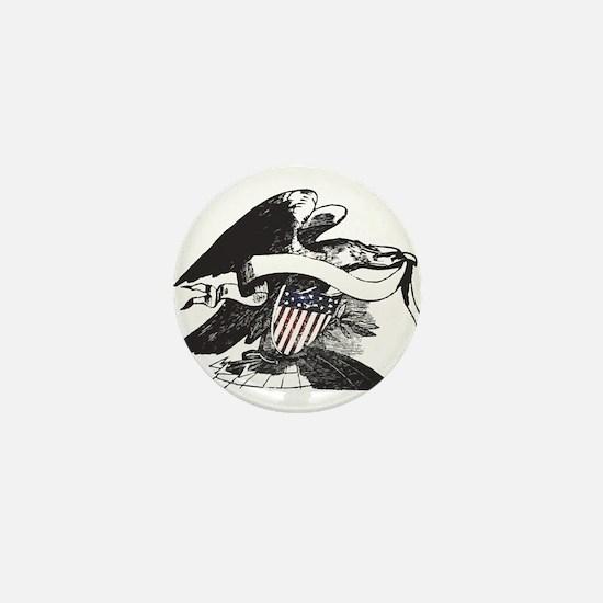bw eagle.png Mini Button
