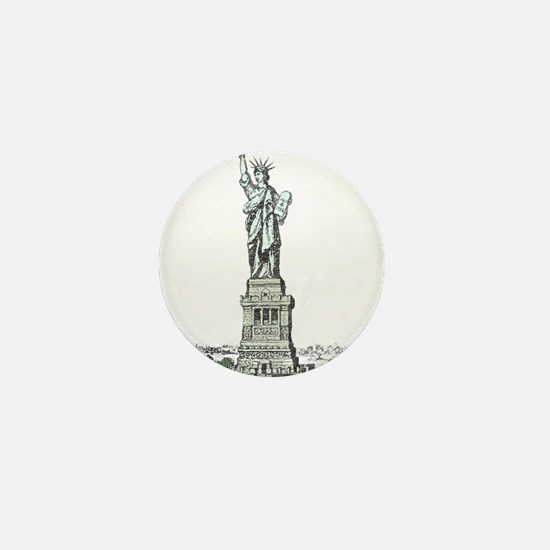 Statue of Liberty Mini Button