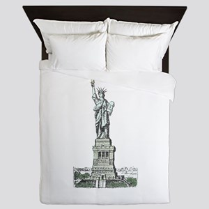 Statue of Liberty Queen Duvet