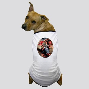 Lady Liberty Dog T-Shirt