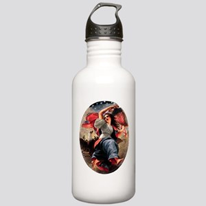 Lady Liberty Stainless Water Bottle 1.0L