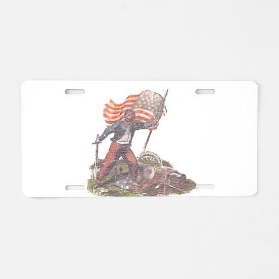 Civil War Patriot Aluminum License Plate