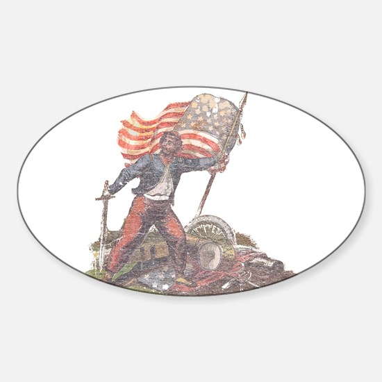 Civil War Patriot Sticker (Oval)