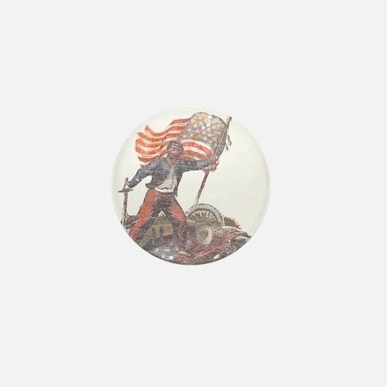 Civil War Patriot Mini Button