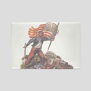 Civil War Patriot Rectangle Magnet