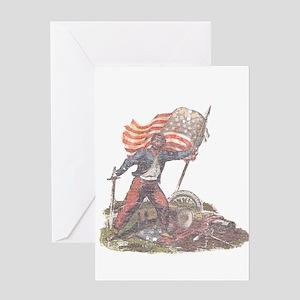 Civil War Patriot Greeting Card