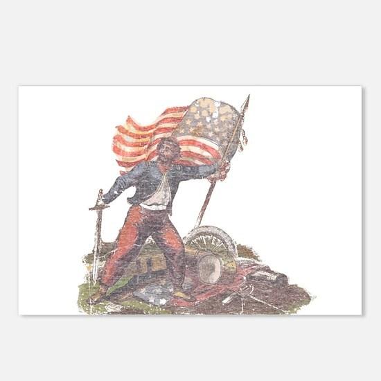 Civil War Patriot Postcards (Package of 8)