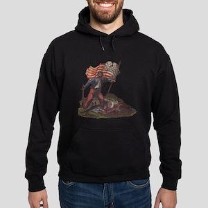 Civil War Patriot Hoodie (dark)
