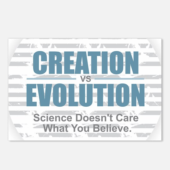 Science Doesn't Care Postcards (Package of 8)