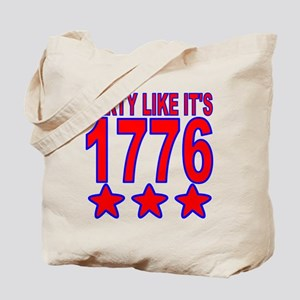 Party Like Its 1776 Tote Bag